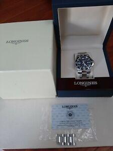 LONGINES Hydroconquest L3.740.4  quartz mens watch  in excelent condition