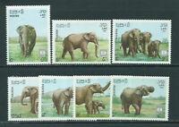 Laos - Mail 1987 Yvert 791/4 MNH