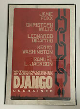 "Django:Unchained 2013 Original Movie Poster Tarantino Double Sided 27"" x 40"""