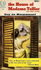 de MAUPASSANT, Guy - THE HOUSE OF MADAME TELLIER  Pyramid 506, 1956