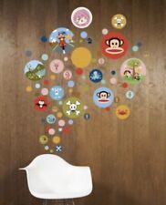 Paul Frank Small Paul Spots Peel and Stick Vinyl Wall Decorations 80 Dots