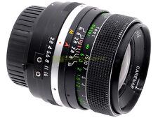 Minolta MC-MD obiettivo Carenar 35mm. f2,8. Utilizzabile su digitali.