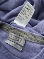 JOHN LEWIS • 100% KASCHMIR CASHMERE • LUXUS-PULLOVER • L XL 50 52 •Made in Italy