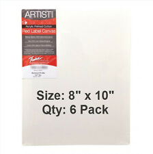 """4 Pack 22x28 Stretched Artist Canvas Primed Panel 3//4/"""" Bulk Discount"""