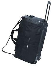 Trolley M schwarz Reisetasche 60 Liter ltr Rolltasche Trolly Sport Tasche Koffer