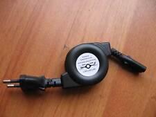 power supply retractable 2-Prong Cord cable EU plug