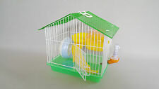 Hamster House Style Cage Transporter Travel Pet Mouse Bowl Wheel Bottle Gerbil