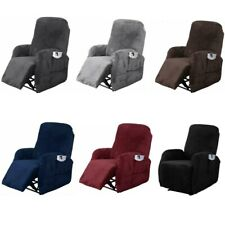 4 Pcs Stretch Recliner Slipcover Fit Furniture Chair Lazy Boy Cover for Sofa New