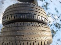 2 x2 x 215/55 R17 94V Pneumatici estivi Michelin Primacy 3 DOT 3815 6mm