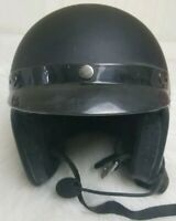 Fulmer HELMET BLACK HALF SHELL BIKER MOTORCYCLE XL open face DOT APPROVED!!!!!