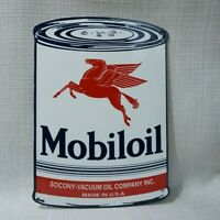 "MOBI-5 18/"" ROUND MOBIL GAS PEGASUS GASOLINE GAS PUMP OIL TANK DECAL"