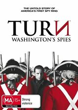 Turn : Season 1 (DVD, 2015, 3-Disc Set) Drama, War  Jamie Bell, Seth Numrich