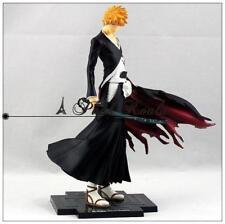 BLEACH Kurosaki Ichigo PVC Figure Anime Figures Toy 22cm NEW IN BOX