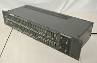 Samson Graphic Equalizer Dual 31 Band EQ 1/3 Octave Model E62 Tested Working