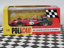 Policar Spa 2ND 701 de marzo 1970 #10 Chris Amon Rojo CAR04A 1:32 Ranura Nuevo Y En Caja