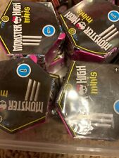 Monster High Minis Series 1 Blind bags Lot Of 4
