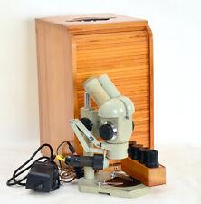 Stereomikroskop SMXX Carl Zeiss Jena + 2 Okular-Paare + Beleuchtungseinr. (1917)