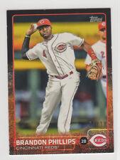 Brandon Phillips #266 2015 Topps black border serial MINI card 09/10 Reds Braves