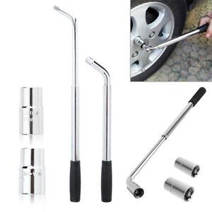 Extendable Wheel Brace Wrench Telescopic 17 19 21 23MM Car Van Socket Tyre Nut