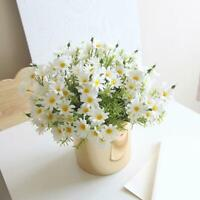 Flowers Artificial Flower Silk Cloth Plant Fake Flowers Interior Decoration W
