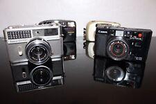 Canon, Ansco, Samsung & Yashica Camera Lot!