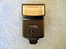 Minolta Auto 25 Shoe Hot Shoe Mount Flash - Tested Fully Functional