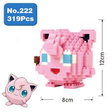 LNO Pokemon Jigglypuff Nano Blocks DIY Diamond Mini Building Toy Pocket Monster