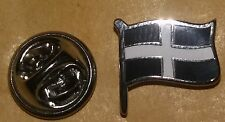 cornwall flag lapel badge england united kingdom truro cornish