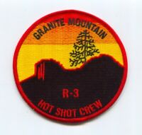Granite Mountain Hotshot Crew Reg 3 Forest Fire Wildfire Wildland Patch Arizona