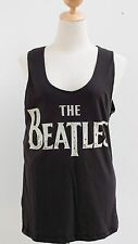 The Beatles Rock n' Roll Band Sleeveless Vest Tank Top T-Shirt Size M