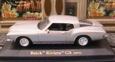 BUICK RIVIERA GS 1971 YATMING SILVER 1/43 USA AMERICA