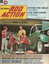 ROD ACTION 1972 SEPT - Vol 1 #2, V8 PINTO, FORD, MOPAR & OLDS ENGINE IDs