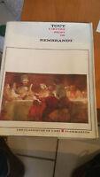 Tout l'oeuvre peint de Rembrandt - Flammarion (1971)