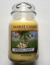 Yankee Candle SPRING DAYS 22 oz. LARGE JAR HTF SCENT RETIRED