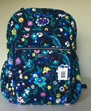 Vera Bradley Campus Backpack MOONLIGHT GARDEN ~ NWT