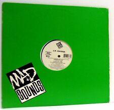 J.R. SWINGA, LORD FINESSE chocolate city 12 INCH EX/VG+, 374634863-1, vinyl, USA