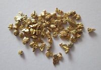 1.712 Grams of 14 Screen Natural Alaska Placer Gold Nuggets Flakes Fines, Q 4692