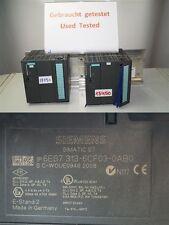 Siemens 6es7313-6cf03-0ab0 CPU 313c-2 DP 6es7 313-6cf03-0ab0