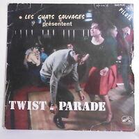 "33T CHATS SAUVAGES Disque LP 12"" TWIST PARADE - ROCK' N ROLL - VOIX MAITRE 31015"