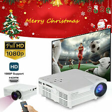 White Mini Led Home Theater Projector 1080P Hdmi Lcd/H80 Home Cinema Projectors