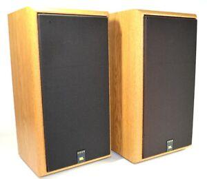 Vintage JBL 2600 Speakers Pair * Titanium Tweeters 100W (Woodgrain) Made in USA