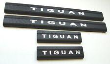 VW Tiguan 2 2016 Edelstahl Carbon STYLE Einstiegsleisten mit LOGO