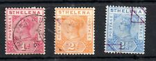 St Helena QV 1890 fine used collection 1d to 2 1/2d Cat Val £30 WS14234