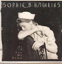 SOPHIE B. HAWKINS As I Lay Me Down CD Single Card Sleeve