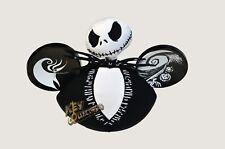 Disneyland Nightmare Before Christmas Jack Skellington Mickey Ears - NEW