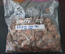 10 LBS Bulk Circulated 95% Copper Pennies. 1959-1982 Free Shipping