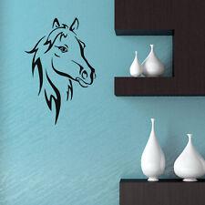 Hot Horse Vinyl Wall Decal Running Horse Wall Art Animal Decal Living Room Decal