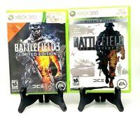 Battlefield 3 + Bad Company 2 Limited Edition Microsoft Xbox 360 Tested Dice EA
