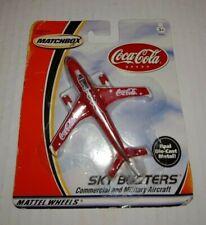 Matchbox Sky Busters Coca Cola Airplane Die Cast