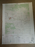 Large 28x22 1982 Topo Map Tehachapi, California Proctor Lake Sand Canyon Oak Cr.